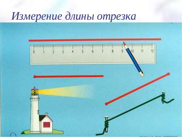 Измерение длины отрезка