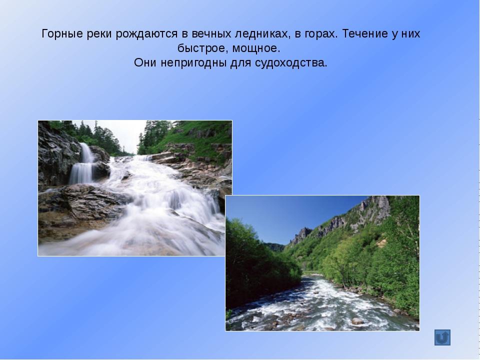 Равнинные реки плавно текут среди полей и лесов. Они широкие и глубокие, поэт...