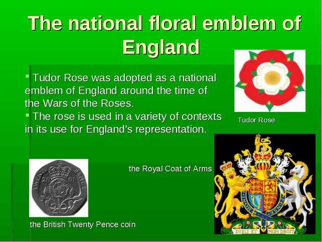 The national floral emblem of England Tudor Rose was adopted as a national em...