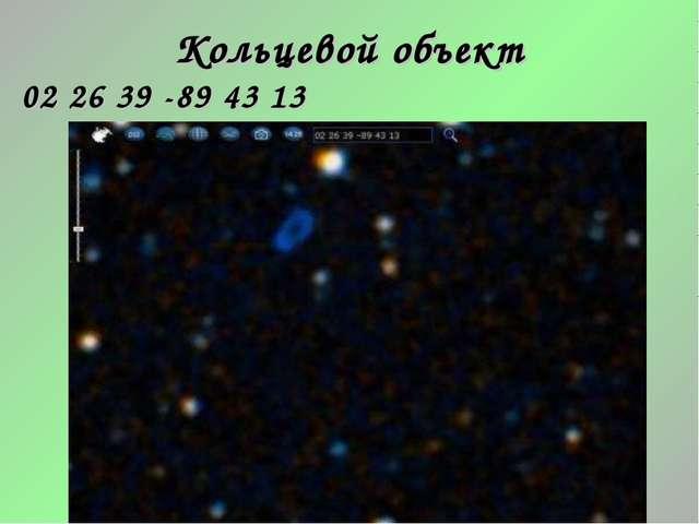 Кольцевой объект 02 26 39 -89 43 13