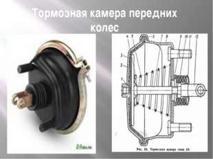 Тормозная камера передних колес