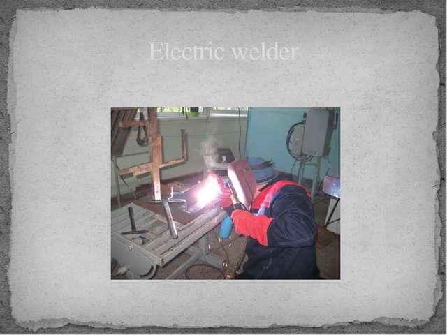 Electric welder