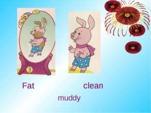 Fat clean muddy