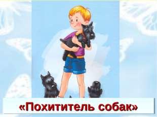 «Похититель собак»