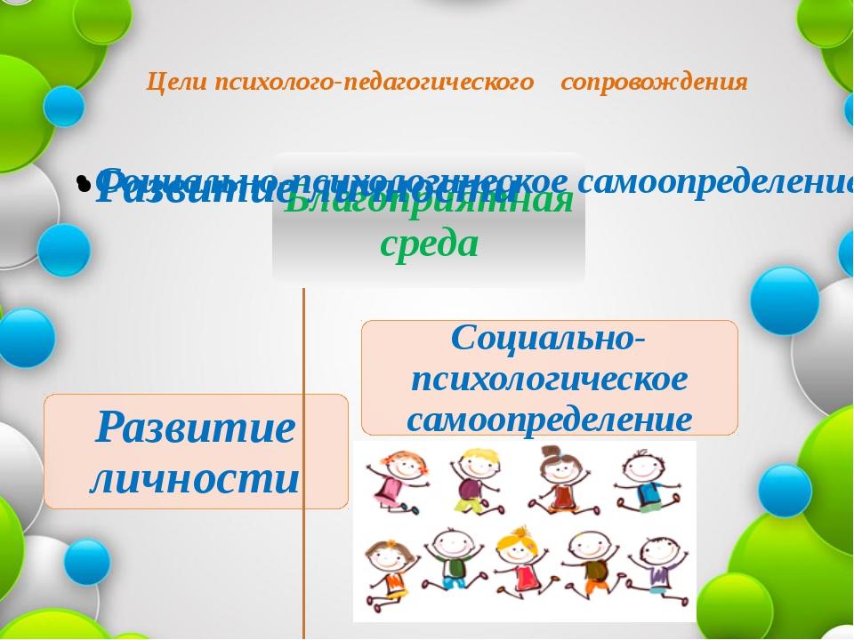 Цели психолого-педагогического сопровождения