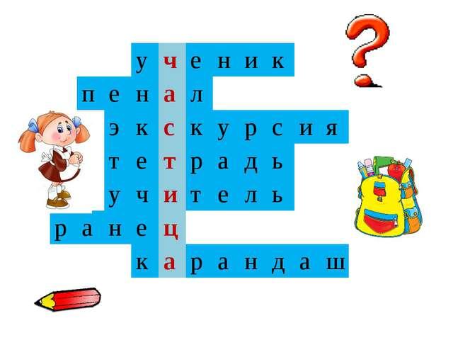 у ч е н и к п е н а л э к с к у р с и я т е т р а д ь у ч и т е л ь р а н е...