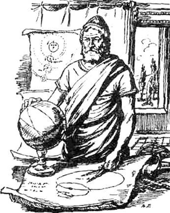 agapii: карта мира клавдия птолемея