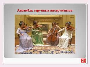 Ансамбль струнных инструментов