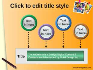 Click to edit title style ThemeGallery is a Design Digital Content & Contents
