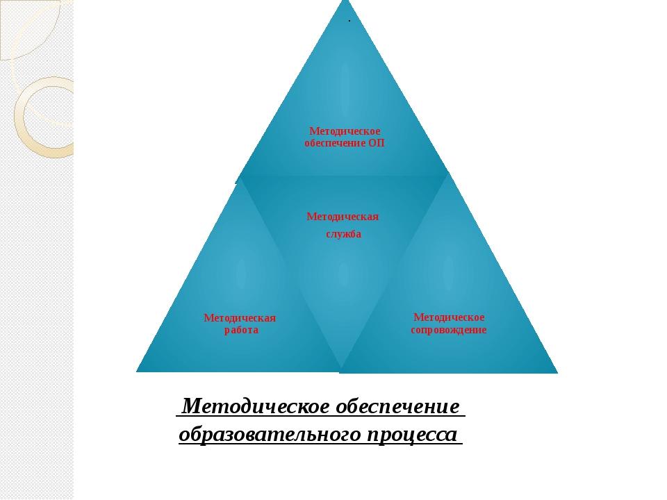 .  Методическое обеспечение образовательного процесса