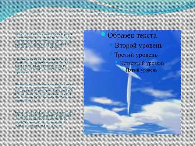 . Оно появилось из облаков над Курской Коренной пустынью. Это был громадный к...