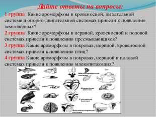 Подведем итоги: А.Н.Северцов предложил различать два направления биологическо