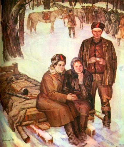 Картины о Великой Отечественной войне. Часть 3. (20 фото)