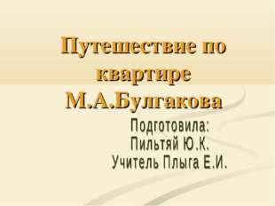 Путешествие по квартире М.А.Булгакова