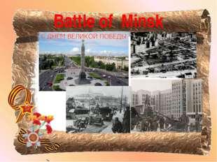 Battle of Minsk
