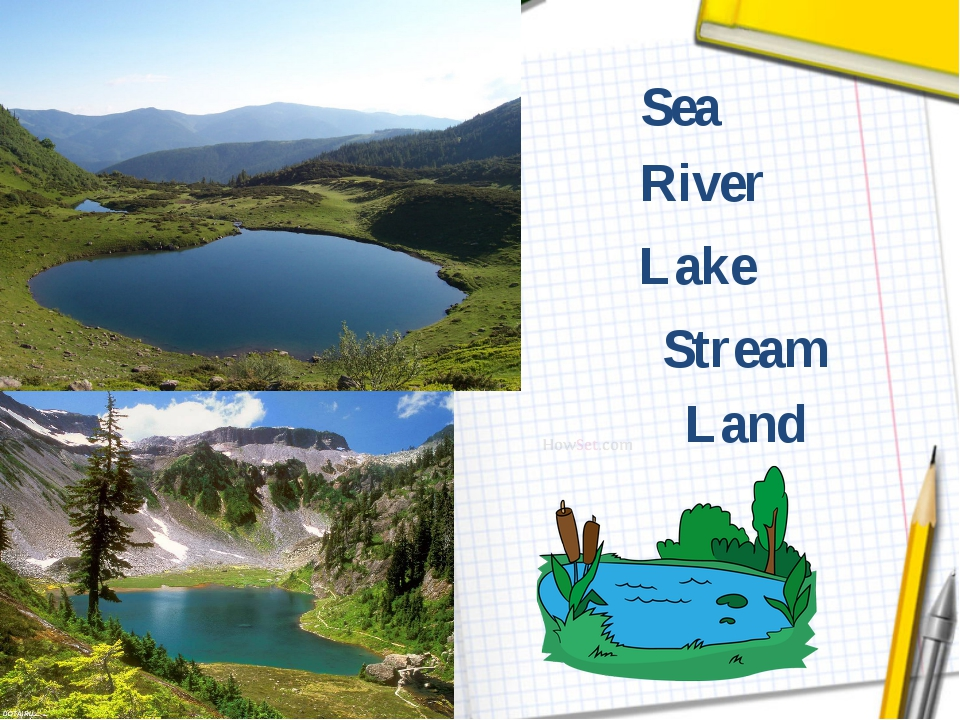 Stream Land Lake River Sea