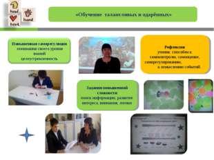 «Обучение талантливых и одарённых» Задания повышенной сложности поиск информ