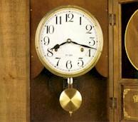Рис. 1. Периодические колебания маятника часов