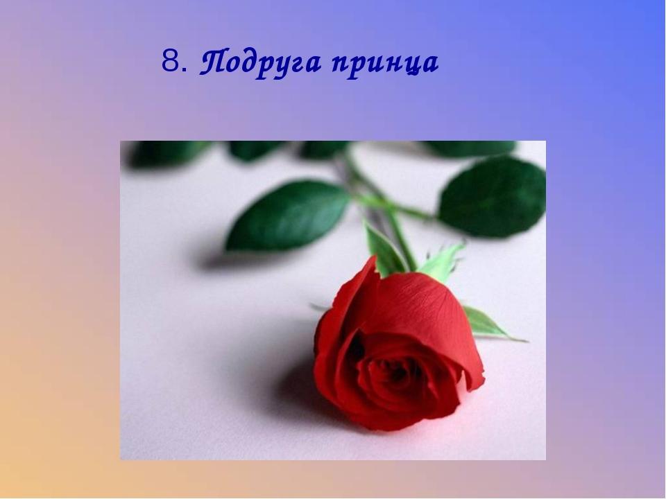 8. Подруга принца