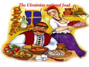 The Ukrainian national food