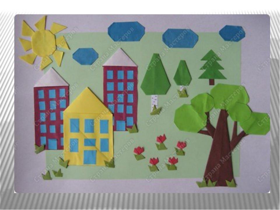 поделка открытка наш город занятия совмещены