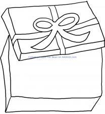 Раскраска коробка Детские раскраски, распечатать, скачать