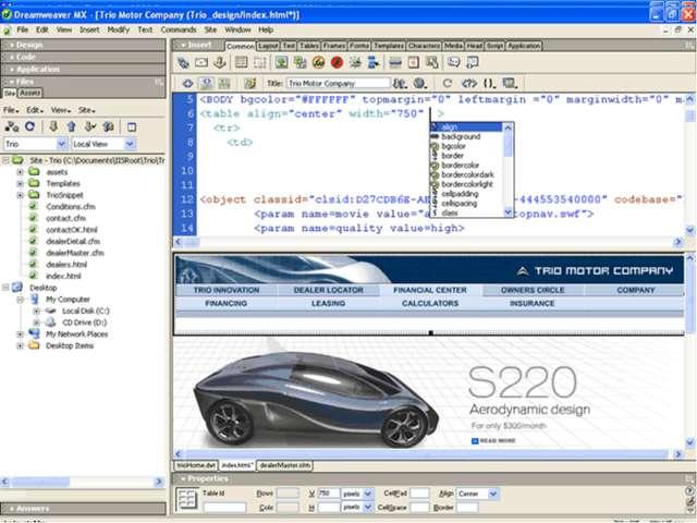 Использование программных продуктов для создания и управления сайтом. Наприме...