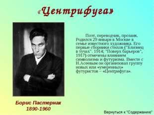 Поэт, переводчик, прозаик. Родился 29 января в Москве в семье известного ху