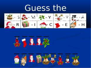 Guess the Christmas greeting
