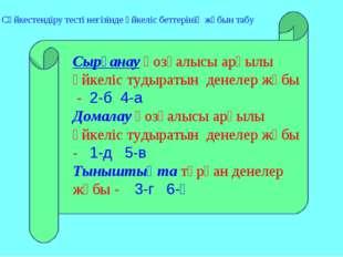 Сырғанау қозғалысы арқылы үйкеліс тудыратын денелер жұбы - 2-б 4-а Домалау қо