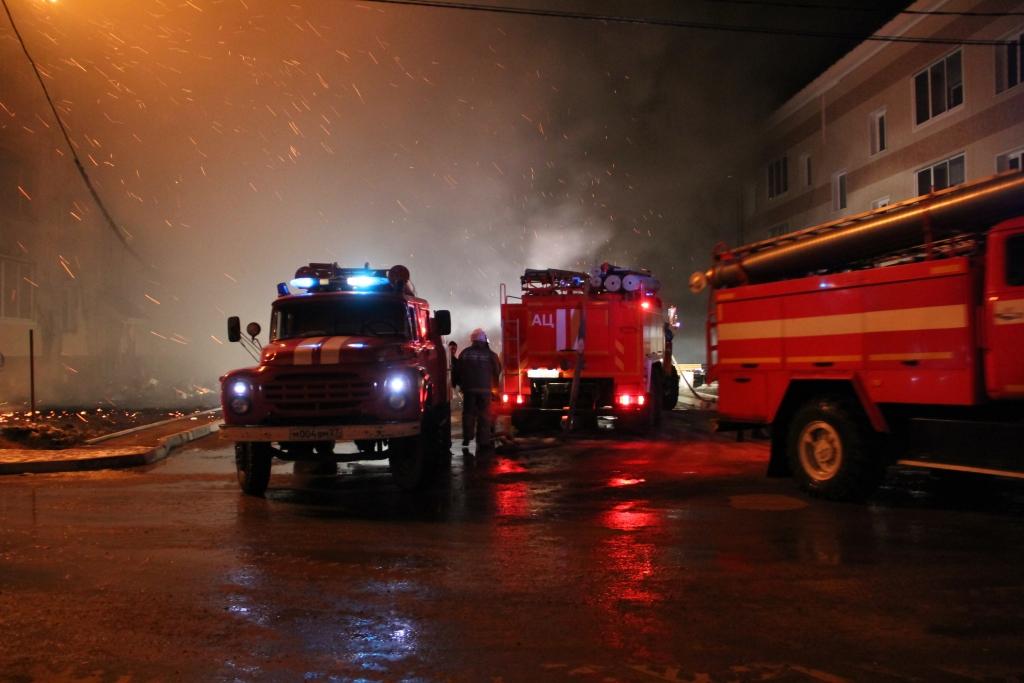Сожженная семья, пепелище храма и смерть спасателей: 10 жутких пожаров в Хабаровском крае, Фото с места события собственное