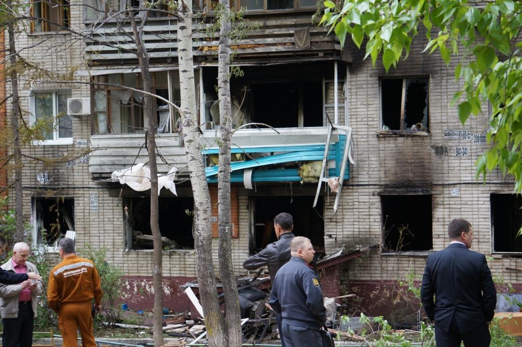Сожженная семья, пепелище храма и смерть пожарных: 13 жутких пожаров в Хабаровском крае, Фото с места события собственное