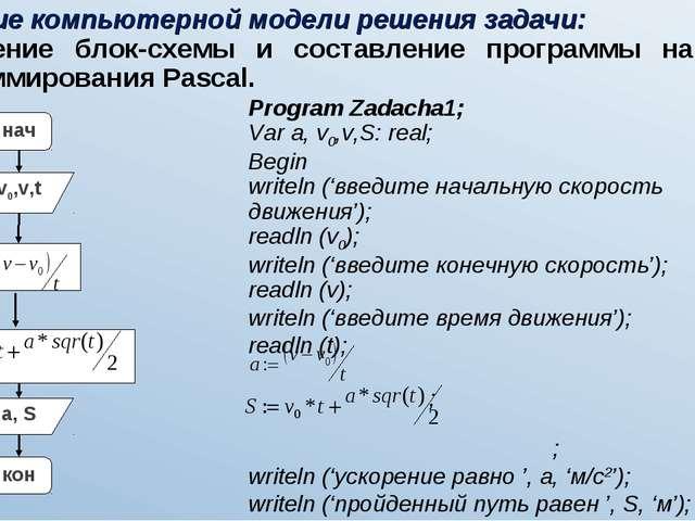 Формулы для решения задач в паскале решение задач по теме параллельный перенос поворот