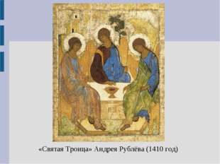 «Святая Троица» Андрея Рублёва (1410 год)