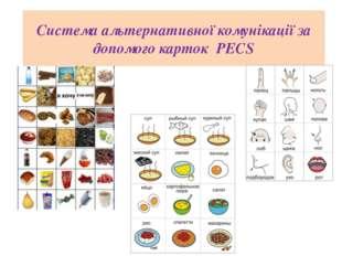 Система альтернативної комунікації за допомого карток PECS Powerpoint Templat