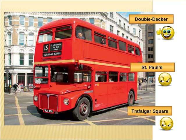 Double-Decker St. Paul's Trafalgar Square