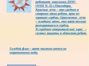 Описание эмблемы, символов, атрибутов организации. «Жулдыз» - двенадцатиконч