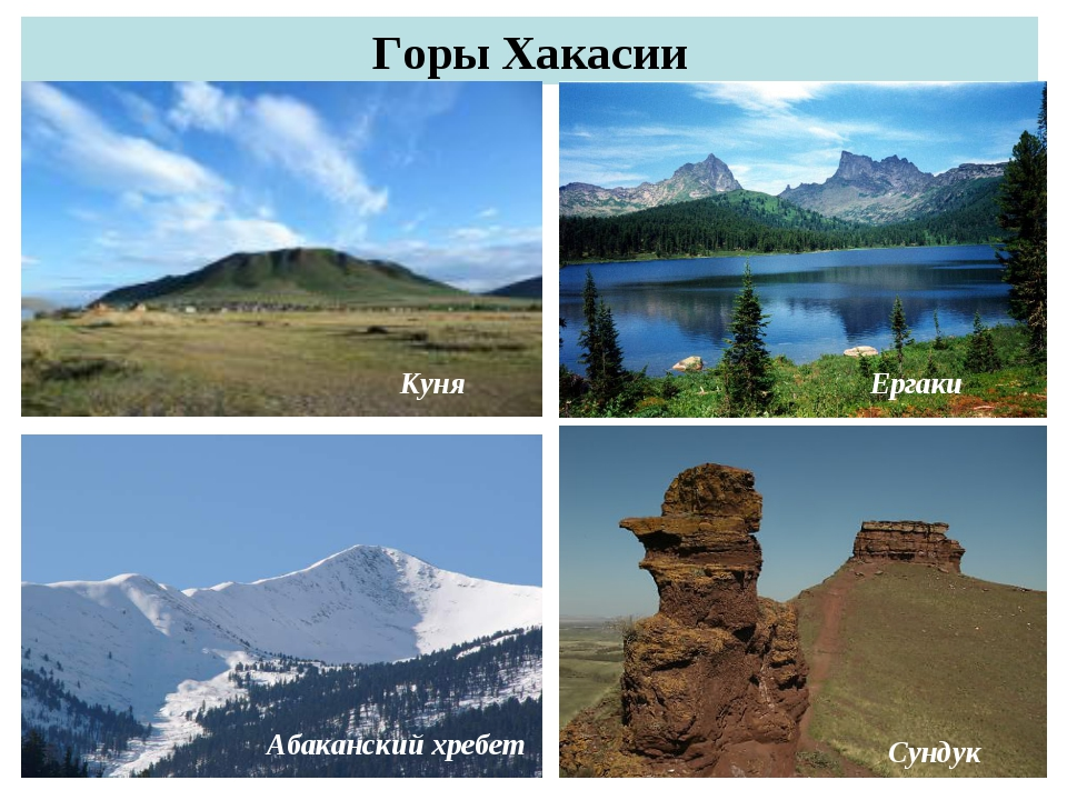 Горы Хакасии Куня Ергаки Абаканский хребет Сундук