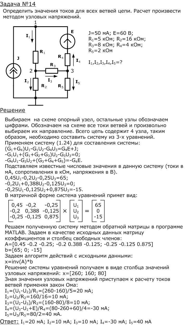 Метод узловых напряжений