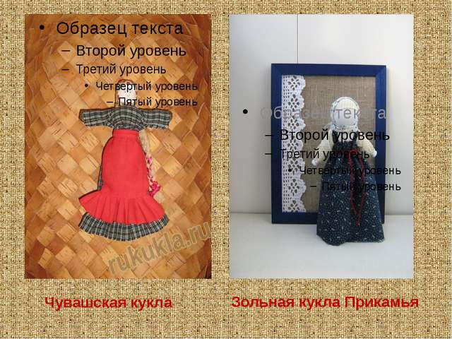 Чувашская кукла Зольная кукла Прикамья