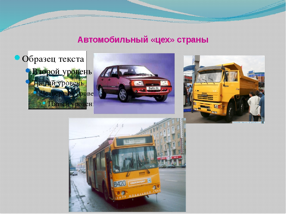 Автомобильный «цех» страны