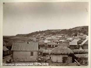 Станица Цимлянская.1875-1876