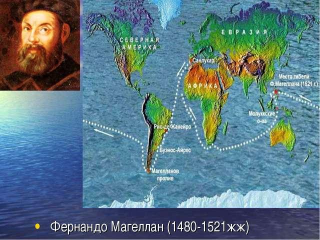 Фернандо Магеллан (1480-1521жж)