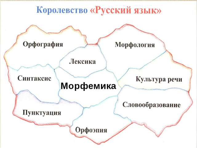 В СТРАНУ Морфемика