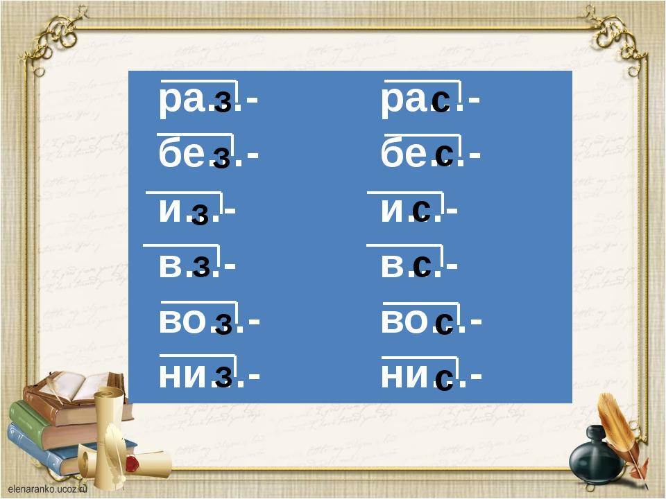 З З З З З З с с с с с с ра…- ра…- бе…- бе…- и…- и…- в…- в…- во…- во…- ни…- ни…-