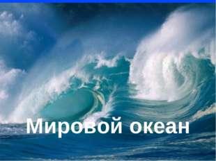 Мировой океан