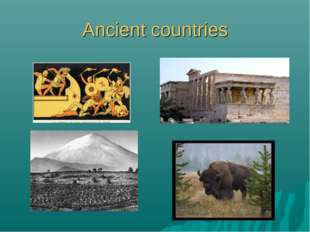 Ancient countries