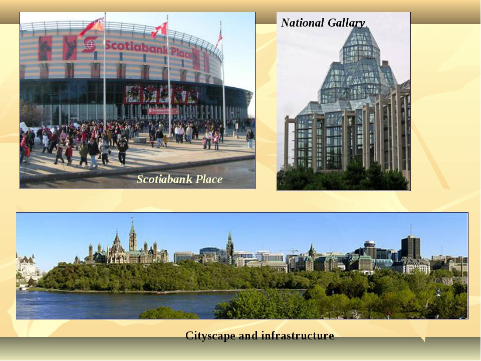 Scotiabank Place National Gallary Cityscape and infrastructure