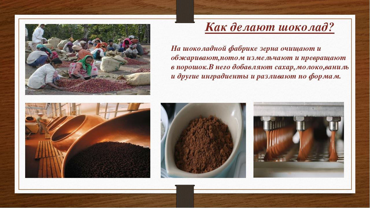 Как сделать шоколадную фабрику 123