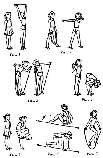 Упражнения для 1–2-х классов